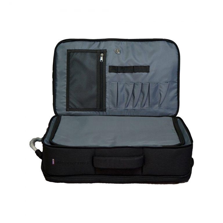 wht - Master Barber Backpack grey inside - 2